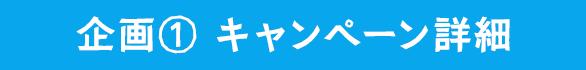 企画① キャンペーン詳細